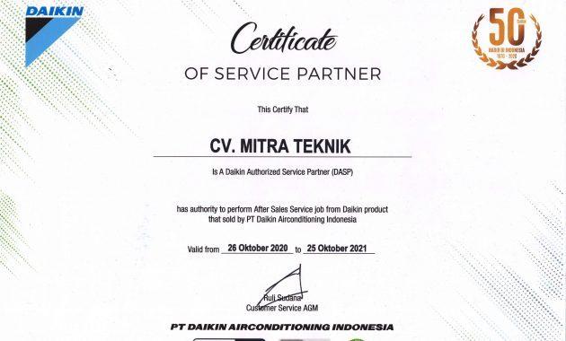 penghargaan service ac malang terbaik